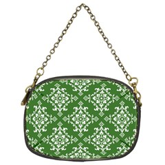 St Patrick S Day Damask Vintage Chain Purses (two Sides)