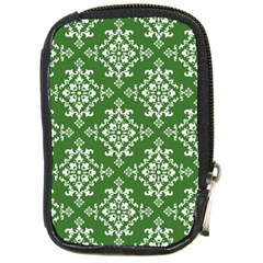 St Patrick S Day Damask Vintage Compact Camera Cases