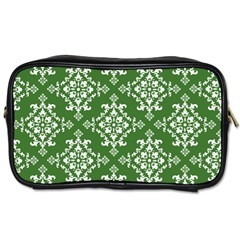 St Patrick S Day Damask Vintage Toiletries Bags