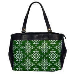 St Patrick S Day Damask Vintage Office Handbags
