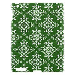St Patrick S Day Damask Vintage Apple Ipad 3/4 Hardshell Case by BangZart