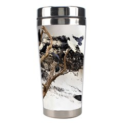 Birds Crows Black Ravens Wing Stainless Steel Travel Tumblers