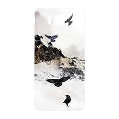 Birds Crows Black Ravens Wing Samsung Galaxy Alpha Hardshell Back Case