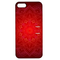 Mandala Ornament Floral Pattern Apple Iphone 5 Hardshell Case With Stand
