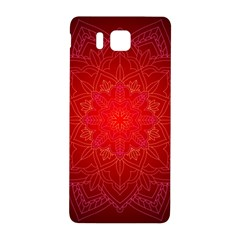 Mandala Ornament Floral Pattern Samsung Galaxy Alpha Hardshell Back Case