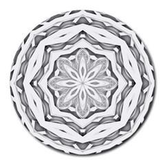 Mandala Pattern Floral Round Mousepads