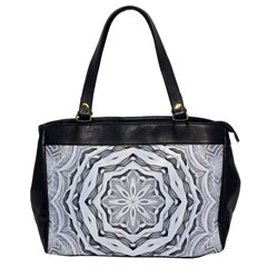 Mandala Pattern Floral Office Handbags by BangZart