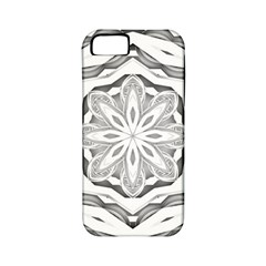 Mandala Pattern Floral Apple Iphone 5 Classic Hardshell Case (pc+silicone)