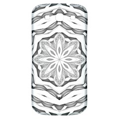 Mandala Pattern Floral Samsung Galaxy S3 S Iii Classic Hardshell Back Case