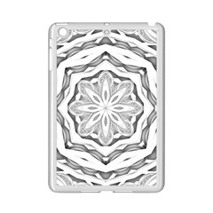 Mandala Pattern Floral Ipad Mini 2 Enamel Coated Cases by BangZart