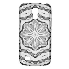Mandala Pattern Floral Galaxy S4 Mini