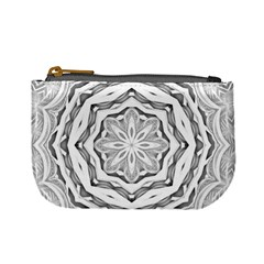 Mandala Pattern Floral Mini Coin Purses
