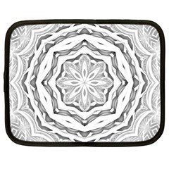 Mandala Pattern Floral Netbook Case (xl)
