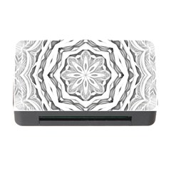 Mandala Pattern Floral Memory Card Reader With Cf by BangZart