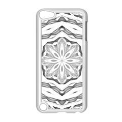 Mandala Pattern Floral Apple Ipod Touch 5 Case (white) by BangZart