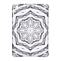 Mandala Pattern Floral Apple Ipad Mini Hardshell Case (compatible With Smart Cover) by BangZart