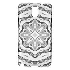 Mandala Pattern Floral Samsung Galaxy Note 3 N9005 Hardshell Case