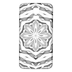 Mandala Pattern Floral Samsung Galaxy S5 Back Case (white)