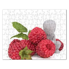 Fruit Healthy Vitamin Vegan Rectangular Jigsaw Puzzl