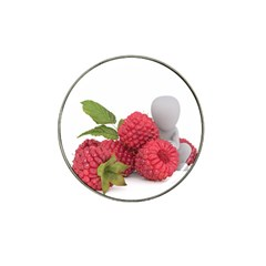 Fruit Healthy Vitamin Vegan Hat Clip Ball Marker (4 Pack)
