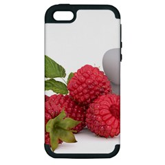 Fruit Healthy Vitamin Vegan Apple Iphone 5 Hardshell Case (pc+silicone) by BangZart