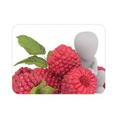Fruit Healthy Vitamin Vegan Double Sided Flano Blanket (mini)  by BangZart