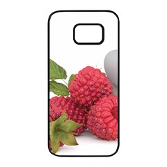 Fruit Healthy Vitamin Vegan Samsung Galaxy S7 Edge Black Seamless Case