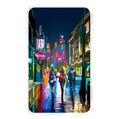 Abstract Vibrant Colour Cityscape Memory Card Reader