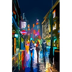 Abstract Vibrant Colour Cityscape 5 5  X 8 5  Notebooks