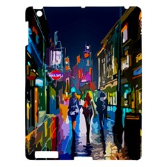 Abstract Vibrant Colour Cityscape Apple Ipad 3/4 Hardshell Case by BangZart
