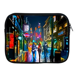 Abstract Vibrant Colour Cityscape Apple Ipad 2/3/4 Zipper Cases by BangZart