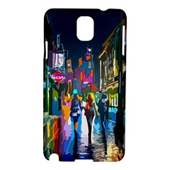 Abstract Vibrant Colour Cityscape Samsung Galaxy Note 3 N9005 Hardshell Case