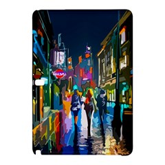 Abstract Vibrant Colour Cityscape Samsung Galaxy Tab Pro 12 2 Hardshell Case
