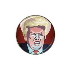 Donald Trump Pop Art President Usa Hat Clip Ball Marker (4 Pack) by BangZart