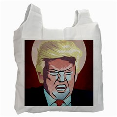 Donald Trump Pop Art President Usa Recycle Bag (one Side) by BangZart