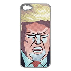 Donald Trump Pop Art President Usa Apple Iphone 5 Case (silver)