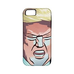 Donald Trump Pop Art President Usa Apple Iphone 5 Classic Hardshell Case (pc+silicone) by BangZart