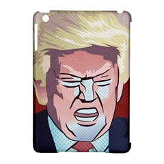 Donald Trump Pop Art President Usa Apple Ipad Mini Hardshell Case (compatible With Smart Cover)