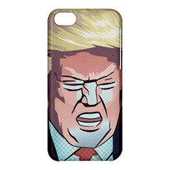 Donald Trump Pop Art President Usa Apple Iphone 5c Hardshell Case by BangZart