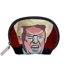 Donald Trump Pop Art President Usa Accessory Pouches (small)  by BangZart