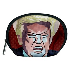 Donald Trump Pop Art President Usa Accessory Pouches (medium)  by BangZart