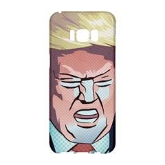 Donald Trump Pop Art President Usa Samsung Galaxy S8 Hardshell Case  by BangZart