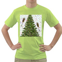 New Year S Eve New Year S Day Green T Shirt
