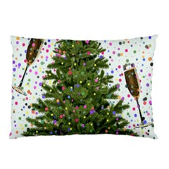 New Year S Eve New Year S Day Pillow Case by BangZart