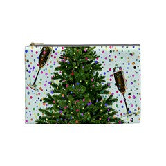 New Year S Eve New Year S Day Cosmetic Bag (medium)  by BangZart