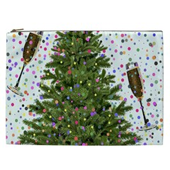 New Year S Eve New Year S Day Cosmetic Bag (xxl)