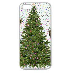 New Year S Eve New Year S Day Apple Seamless Iphone 5 Case (clear)