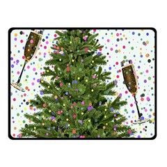 New Year S Eve New Year S Day Double Sided Fleece Blanket (small)  by BangZart