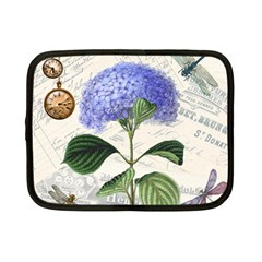 Vintage Shabby Chic Dragonflies Netbook Case (small)