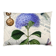 Vintage Shabby Chic Dragonflies Pillow Case